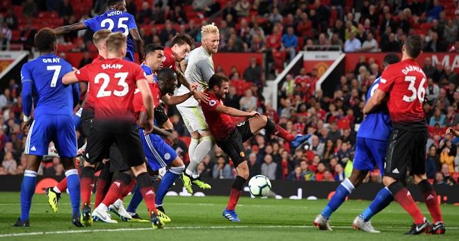 Kasper+Schmeichel+Manchester+United+v+Leicester+w8RD3YMgZ1lx